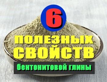 выведение токсинов бентонитовой глиной
