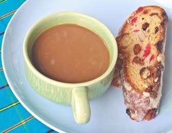 завтрак с кофе и натиоксидантами