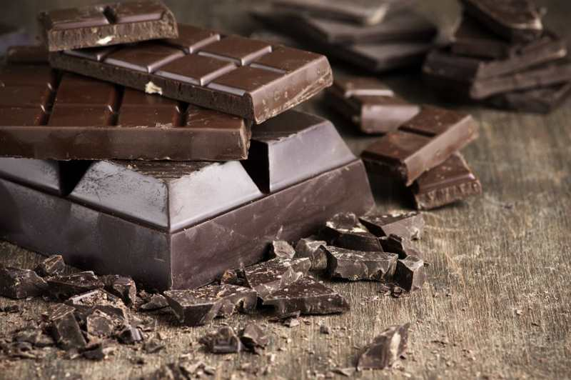 польза от черного шоколада