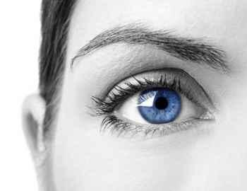 синий цвет глаз