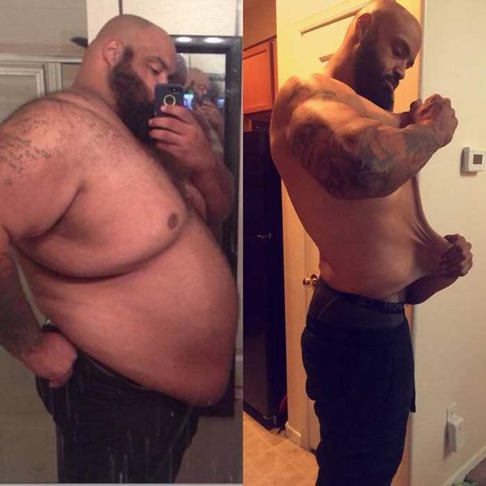похудел очень сильно