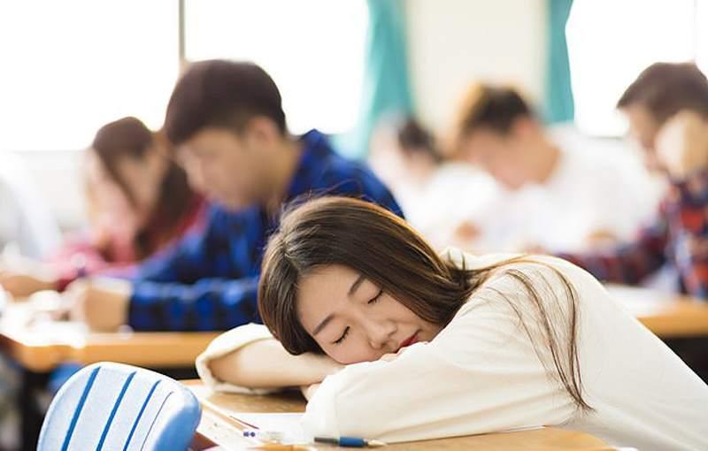 сон во время занятий