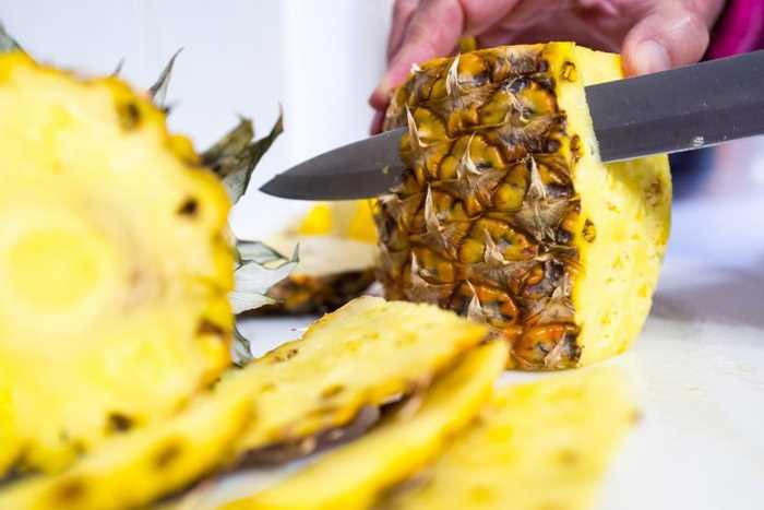 ананас от синяков