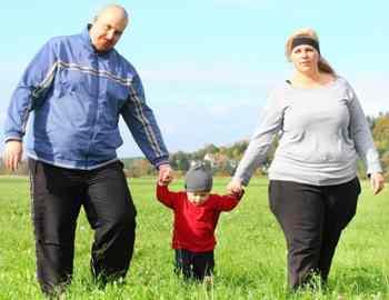 толстая семья