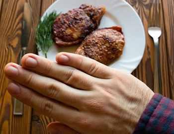 отказ от красного мяса
