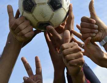 польза игры в мяч