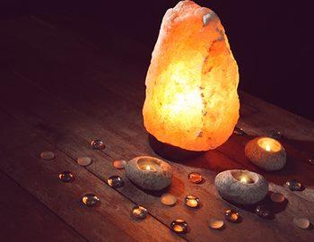 гималайская соляная лампа