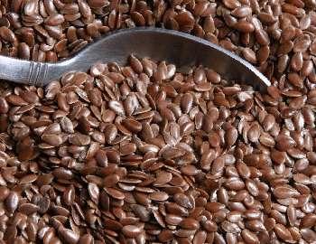 семена льна и рак