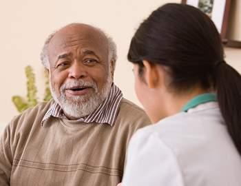 пациент с рассеянным склерозом