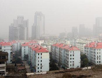 загрязнение воздуха в городе