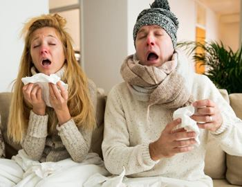 заболели гриппом