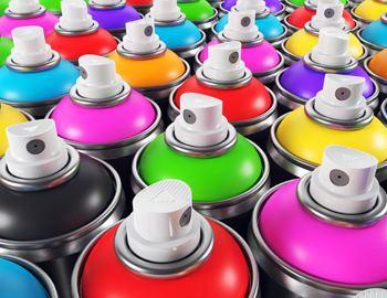 цветные аэрозоли
