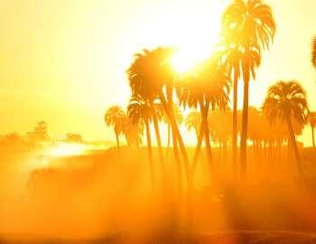 солнечная жара